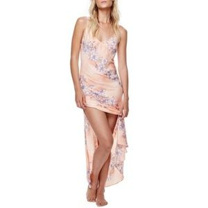 Free People Intimately Floral Maxi Slip Dress NWT